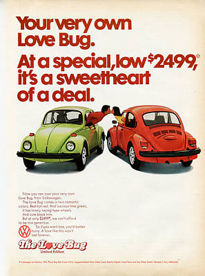 Your Very Own Love Bug Poster by Georgia Fowler