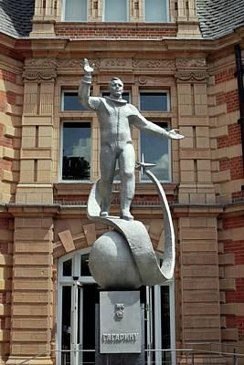 Yuri Gagarin Statue Poster by Martin Bond