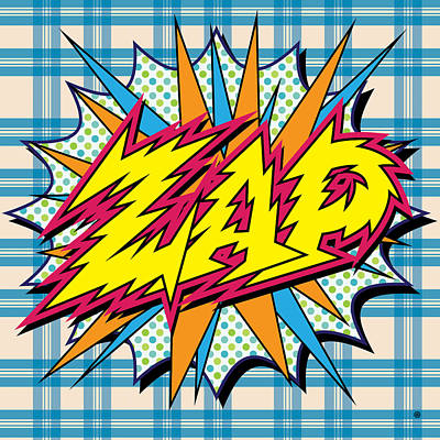 Zap Poster by Gary Grayson