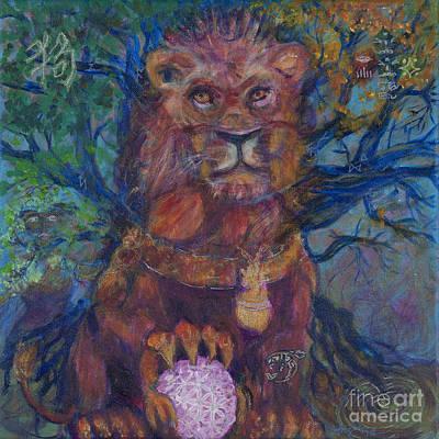 Zayda Zodiac Poster by Angie Bray-Widner