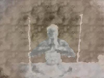 Zen Man  Poster by Shane Dufoe