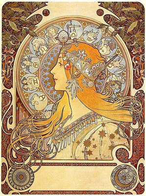 Zodiak 1896 Poster by Philip Ralley