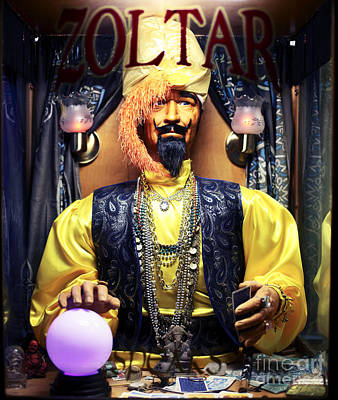 Zoltar Poster by John Rizzuto