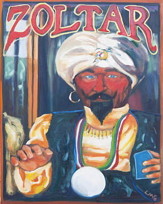 Zoltar Poster by Lisa Goldfarb