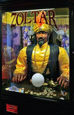 Zoltar Speaks Poster by Lanis Rossi
