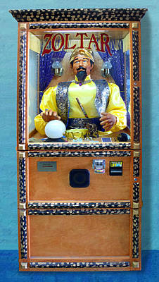 Zoltar Speaks Poster by Ron Regalado