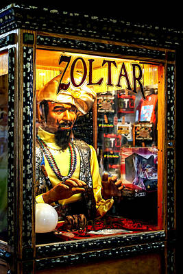 Zoltar The Magnificent Poster by Lynn Palmer
