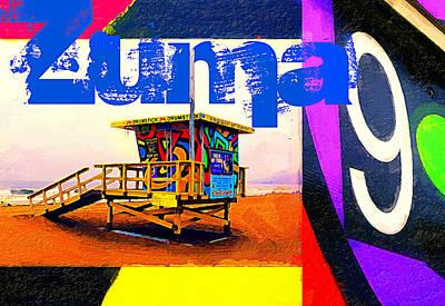 Zuma 9 Poster by Ron Regalado