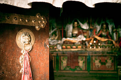 Zuthrul Phug Monastery Milarepas Cave Poster by Raimond Klavins