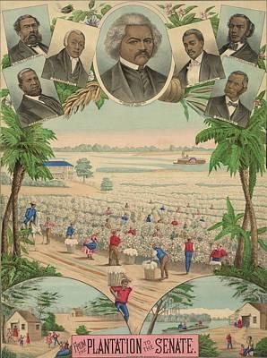 1883 Print Commemorating Poster by Everett