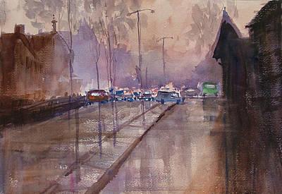After The Rain Poster by Heidi Patricio-Nadon