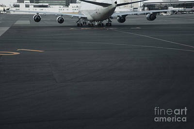 Airport Tarmac Poster by Shannon Fagan