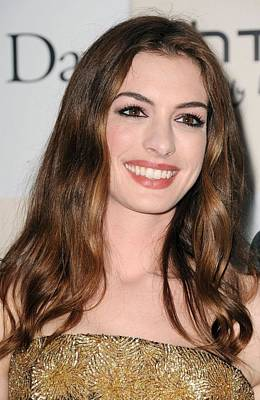 Anne Hathaway At Arrivals For One Day Poster by Everett