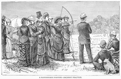 Archery, 19th Century Poster by Granger