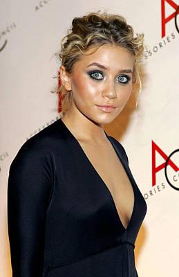 Ashley Olsen Wearing Calvin Klein Poster by Everett