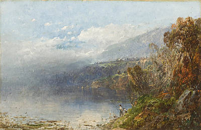 Autumn On The Androscoggin Poster by William Sonntag