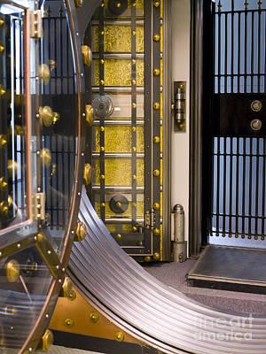 Bank Vault Doors Poster by Adam Crowley