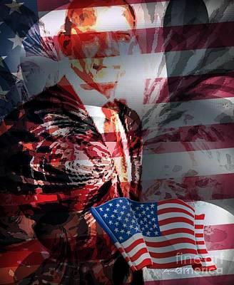 Barack Poster by Fania Simon