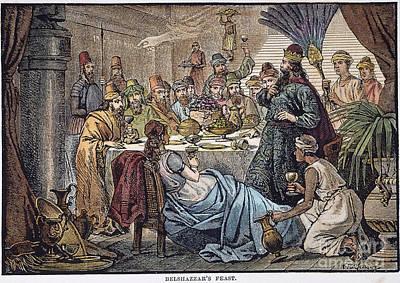 Belshazzars Feast Poster by Granger