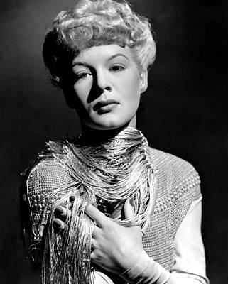 Betty Hutton, Ca. Early 1940s Poster by Everett
