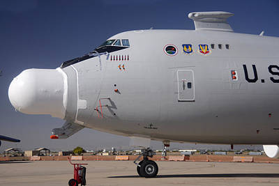Boeing Yal-1a Airborne Laser Testbed Davis-monthan Afb April 15 2012 Poster by Brian Lockett