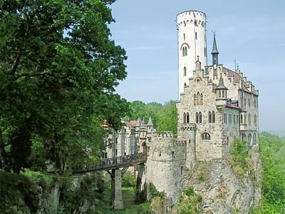 Burg Lichtenstein Poster by Joseph Hendrix