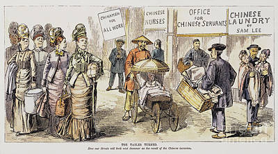 Chinese Immigrants, 1880 Poster by Granger