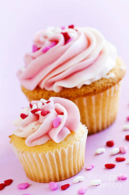 Cupcakes Poster by Elena Elisseeva