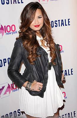 Demi Lovato In Attendance For Z100 Poster by Everett