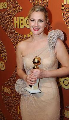 Drew Barrymore Wearing An Atelier Poster by Everett