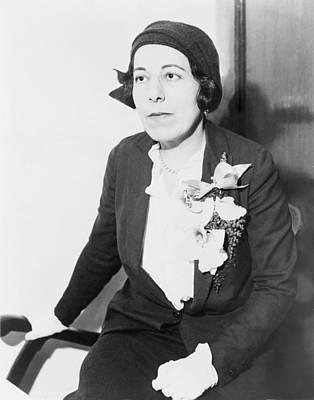 Edna Ferber 1887-1968 American Novelist Poster by Everett