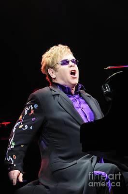 Elton John Poster by Jenny Potter