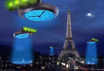 European Time Traveler Poster by Mike McGlothlen