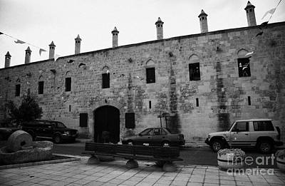 exterior of buyuk han the great inn in nicosia TRNC turkish republic of northern cyprus Poster by Joe Fox