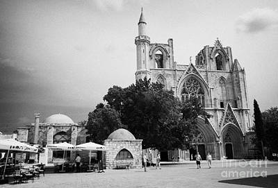 Exterior Of Lala Mustafa Pasha Mosque Old Town Of Famagusta Turkish Republic Of Northern Cyprus Trnc Poster by Joe Fox