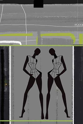 Fashion Dance Poster by Naxart Studio