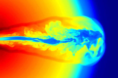 Gamma Ray Burst Formation Poster by Weiqun Zhangstan Woosley