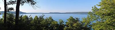 Glen Lake From Inspiration Point Poster by Twenty Two North Photography