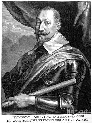 Gustavus II (1594-1632) Poster by Granger