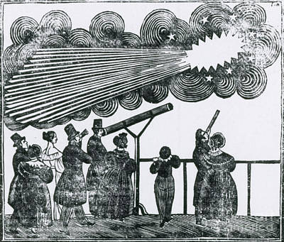 Halleys Comet, 1835 Poster by Science Source