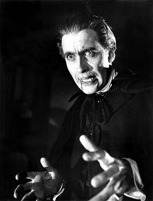 Horror Of Dracula, Christopher Lee, 1958 Poster by Everett