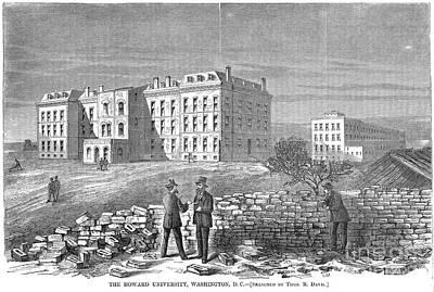 Howard University, 1869 Poster by Granger