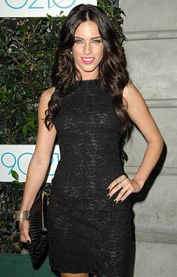 Jessica Lowndes At Arrivals For 90210 Poster by Everett