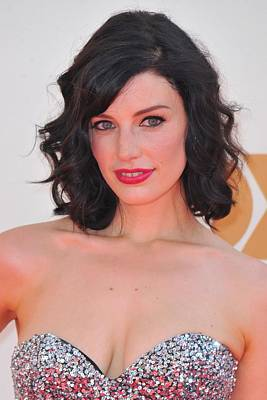 Jessica Pare At Arrivals For The 63rd Poster by Everett
