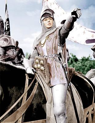 Joan Of Arc, Ingrid Bergman, 1948 Poster by Everett