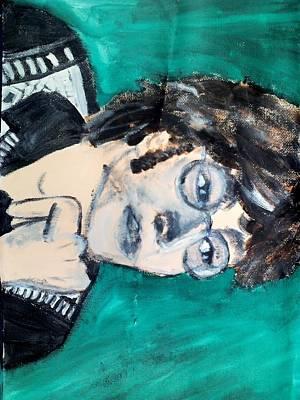 John Lennon Poster by Julie Butterworth