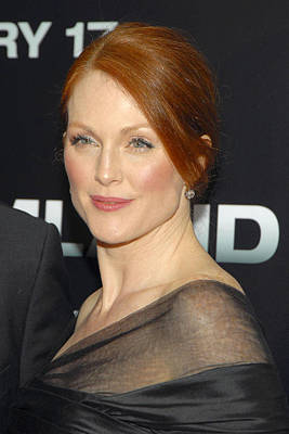 Julianne Moore At Arrivals Poster by Everett