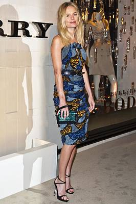 Kate Bosworth Wearing A Burberry Poster by Everett