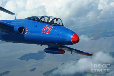 L-29 Delfin Standard Jet Trainer Poster by Daniel Karlsson