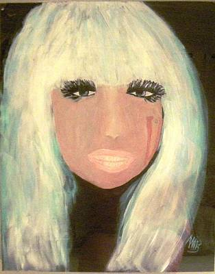 Lady Gaga Poster by Marie Bulger